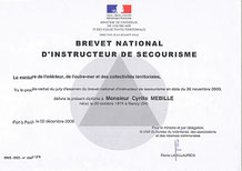 cyrille mebille brevet national de secourisme