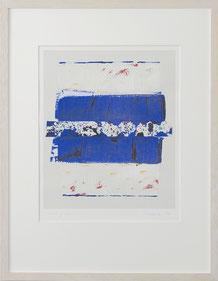 "Peter Lorenz ""181/300"" 50 x 65cm, Serigrafie, gerahmt. Preis 75.-€"