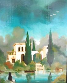 Bergagana expose à la galerie d'art l'île aux Images