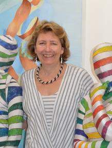 Portrait, Künstlerin, Gudrun Dorsch,