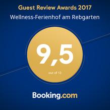booking.com Auszeichnung