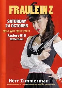 Fraulein Z Herr Zimmerman Wild Wild West Party Rotterdam Factory 010 Angy Kore TanzMan Shambok
