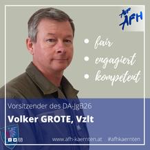 Spitzenkandidat JgB26: Volker Grote