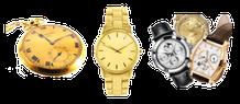 Montre type gousset or, montres or, montre de grandes marques...