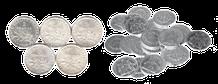 Pièces semeuse et hercules en argent...