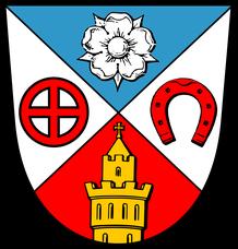 Bild zeigt das Wappen der Stadt Friedrichsdorf