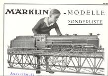 1937 Märklin Metallmodelle Sonderliste