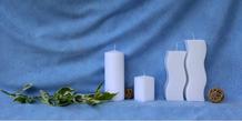 Rohlinge Kerzenrohling