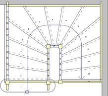 Treppen Grundriss planen