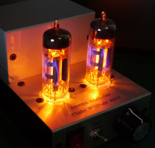 6AW8A DC-DC小型真空管アンプ自作 Single-Ended Small Tube Amplifier
