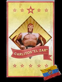 """Logo Carlitos """"El Zar"""""""