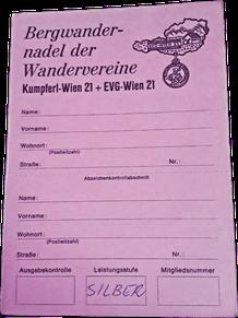 Ausweiskarte SILBER