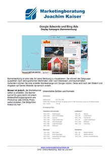 Online Marketing DVD Kurs Bannerwerbung