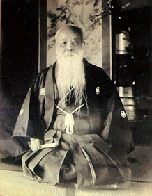 11代目戸谷八郎左衛門。長いひげの人として地域の人に親しまれた。
