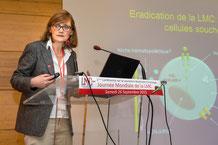Docteur Delphine Réa conférence LMC France IPC jm lmc journée mondiale essai clinique protocole