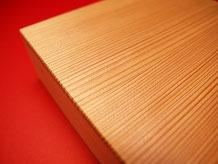 秋田杉で制作した木箱