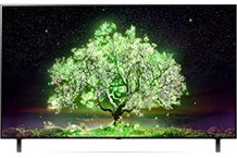 LG OLED55A19LA TV 139 cm (55 Zoll) OLED Fernseher (4K Cinema HDR, 60 Hz, Smart TV) [Modelljahr 2021]