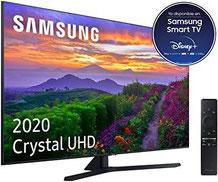 Samsung Crystal UHD 2020 55TU8505 -Smart-TV mit 4K-Auflösung, Crystal-Display, Dual-LED, HDR 10+, 4K-Prozessor, Smart Sound integrierten Sprachassistenten (Alexa) [Energieeffizienzklasse A +]