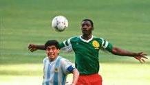 Match d'ouverture de la Coupe du monde Italie 90 - Massing avait muselé Diego Maradona