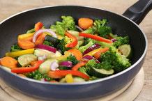 Gemüse Pfanne