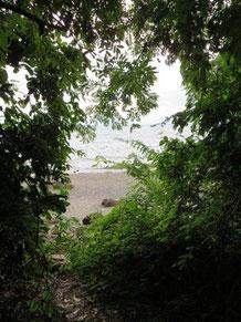 Lake Nyasa, viewed from Nakyala cave