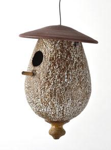 Vogelhäuschen, Keramik