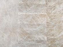 MikroFaserVliese zeigen unterschiedlich viele Fasern, sind alle weiß unterschiedlich dick.