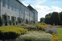 Im Garten von Schloss Gråsten. Foto: VisitSønderjylland