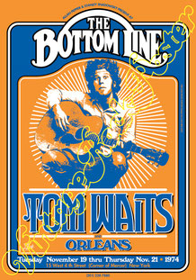 tom waits, tom waits concert, tom waits new york, tom waits poster, tomwaits
