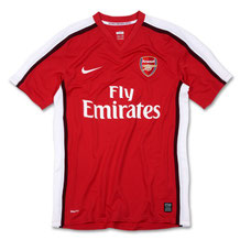 Arsenal Official Home Shirt 2008/2010