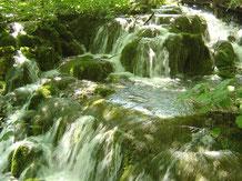 wasserbüro - Wasserfall in Plitvice - Ultrafiltration, Legionellen, Wasseraufbereitung, Trinkwasser Desinfektion