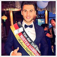 Roman Weiss - Mr. Hamburg-Wahl 2015 im Shalimar