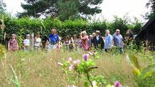 Das Thema Kräuter ist immer wieder interessant und zieht viele Besucher in den Naturerlebnisgarten