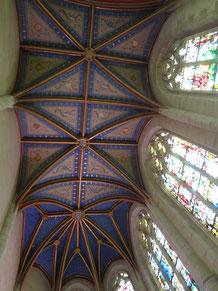 Chapelle du château à Blois. (Source : Laure Trannoy)