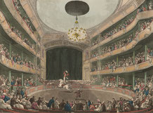 Houghton Library, Harvard - 57-1633 - Astley's Amphitheatre, 1808