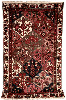 Bakthiar 'khan' shahr kord  2,00 x 1,20 m