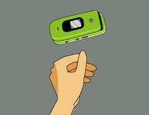 携帯電話 拾う