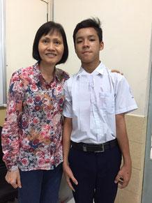 Mrs Ngoc Anh and Phong