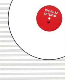 Erratum Musical, Guy Schraenen Archive for Small Press & Communication A.S.P.C.