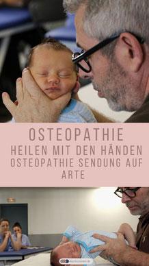Osteopathie - Heilen mit den Händen | ARTE - Videos von ARTE  www.arte.tv/de