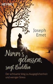 Nimm's gelassen, sagt Buddha Der achtsame Weg zu Ausgeglichenheit und weniger Stress von Joseph Emet
