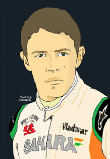 Paul di Resta by Muneta & Cerracín