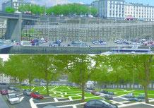 Gwenaëlle Magadur et Sylvain Le Stum, La ville en  mutation, 2004, photographies, tirage numérique, collection artothèque du musée de Brest.