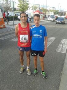 De izq. a der. Jaime Astals, y Jesús Trujillo.