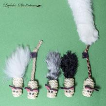 181- Mäuschen Fell Kaninchen Reisfüllung