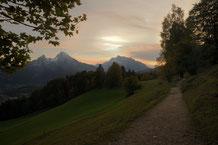 #watzmann , #nationalpark , #königssee , #berchtesgaden , #wanderweg , #gipfel , #bayern , #sonnenuntergang , #idyll