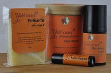Skin-Repair-Fellseife zur Behandlung von nässenden Ekzemen