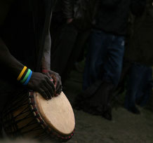 djembe playing