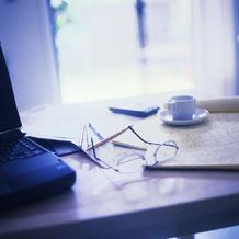 MWS-Buchhaltungsservice Schreibtisch