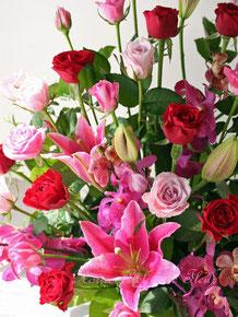開店のお祝い花